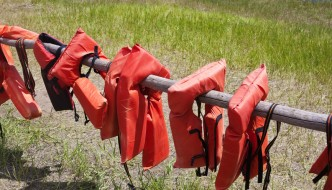 Life Jackets Are Available To Borrow